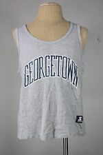 Georgetown starter tank L 42/44 vest vintage 80's 90's made in usa gray cotton