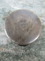 Vintage Sterling Silver Small Box French Trinket Jewelry Pill Box  Antique
