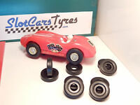 NEW  8  urethane rear or front  tires ELDON 1/32- Us