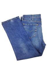 $134 Levi'S 514 Jeans Men'S Blue Jeans Straight Fit Denim Pants Size 40w 30l