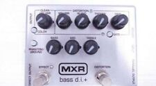 Used! MXR M80 Bass D.I.+ Japan Limited Model Silver Color Preamp Effect Pedal