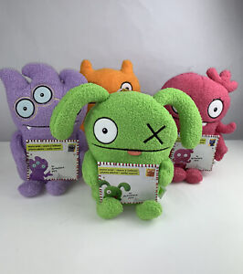 """Lot Of 4 Hasbro Ugly Dolls Movie 8"""" Plush - With Surprise inside cards New"""