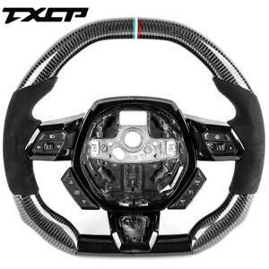 Real Carbon Fiber Steering Wheel for Lamborghini Huracan Urus Aventador