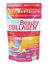 Pure Beauty Collagen 100 Gram Powder Mix - Manufactured in Japan