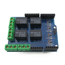 1PCS Four channel Relay Shield 5V 4 Channel Relay Shield Module for Arduino