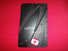 CANADA Flag Sinclair Credit Card Folding Knife *New, Never Used*