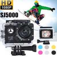 HD 1080P DVR DV Sports Recorder Bike Car Waterproof Mini Action Camera Camcorder