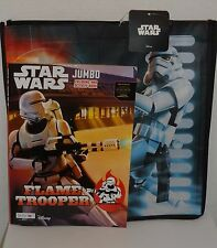 NEW Star Wars FLAME TROOPER Gift Bag set  Bag Flame Troopers  Book to Color  LOT