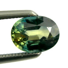 0.72 carat 6x4.5mm Oval Three Colors Natural Australian Parti Sapphire, OPS18
