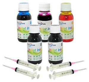 5x100ml Refill Ink for HP 962 OfficeJet Pro 9010 9015 9016 9018 9020 9025