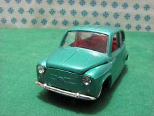 Vintage  -  FIAT 600 D      - 1/43  Politoys-M511   - Mint