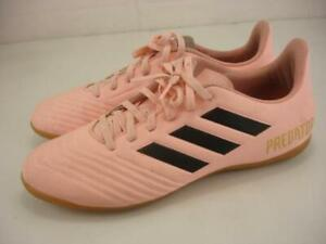 Men's sz 8 M adidas Predator Tango 18.4 DB2139 Pink Indoor Soccer Football Shoes