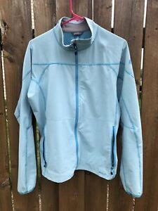 Eddie Bauer Women's First Ascent Softshell Jacket Blue Size XL