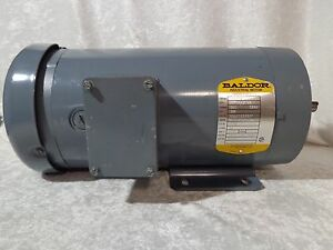 Duty With Haldex// Barnes Pump Baldor Electric Motor .5HP 1750RPM 90V 4.8A Cont