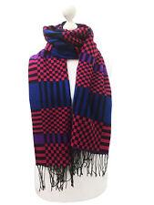 Women Fashion Shawl Scarf Winter Warm Check Tartan Stripes Multi Colour Scarves