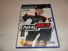 PlayStation 2  PS 2  NHL 2K 3
