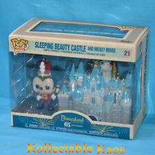 Disneyland 65th Anniversary Mickey With Castle Funko Pop Vinyl