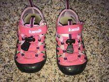 "Kamik toddler girls ""Crab"" pink & purple hiking/ waterproof sandals Us 8, Eur 25"