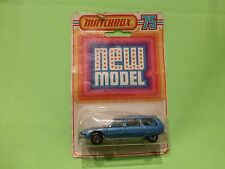 MATCHBOX SUPERFAST - NO= 12  CITROEN CX BREAK  - NEAR MINT IN ORIGINAL BOX
