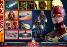 Hot Toys MMS522 1/6th scale Captain Marvel (Deluxe Version) Collectible Figure