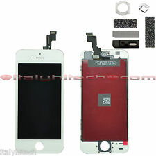 PANTALLA LCD RETINA IPHONE 5S BLANCO TEXTO ORIGINAL EN APPLE PANTALLA TÁCTIL