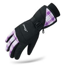 Womens Waterproof Winter Snowboard Skiing Snow 3M Thinsulate Gloves Medium