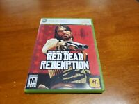 Red Dead Redemption (Microsoft Xbox 360, 2010) CIB Complete TESTED