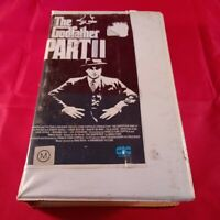 VHS Tape The Godfather Part 2 Clamshell