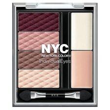 NYC Individual Eyes Eyeshadow Palette Midtown Mauve 6pc With Primer Illuminator