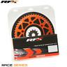 RFX Front & Rear Aluminium Orange Sprocket Kit 13/51 Teeth KTM SX/EXC SXF/EXCF