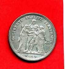 ( RF.32) 5 FRANCS HERCULE TROISIÈME RÉPUBLIQUE 1870 A (ETAT SUP RARE)