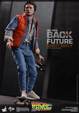 "Marty McFly Back to the Future Zurück in die Zukunft MMS257 12"" Figur Hot Toys"