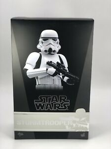 Star Wars Hot Toys Rogue One Stormtrooper MMS 393 *RARE* *NEVER DISPLAYED*