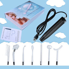 Portable High Frequency Facial Machine With 7 Wands Anti Acne Facial SKin Care