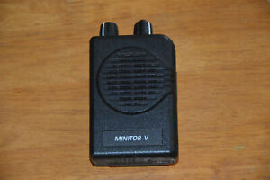 Motorola Minitor V 154 mHz Voice Pager