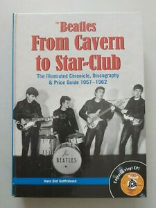 """THE BEATLES FROM CAVERN TO STAR-CLUB  BOOK INCLUDES 7"""" EP HAMBURG TWIST"""