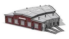PDF-Anleitung Ringlokschuppen / Roundhouse Unikat MOC Custom für LEGO©-Steine