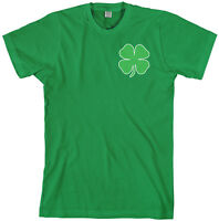 Green Four Leaf Clover Men's T-Shirt St. Patrick's Day