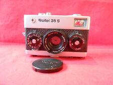 Fotokamera Rollei 35 S Chrom Objektiv Made by Rollei Sonnar 2,8/40 Rollei-HFT