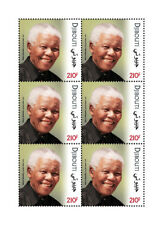 Djibouti Nelson Mandela Stamps 2018 MNH JIS Joint Issue PAPU Famous People 6v MS
