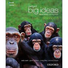 Oxford Big Ideas Science 8 - Australian Curriculum Textbook + Obook by Sally...