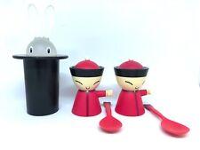Alessi A di Mr Chin Kitchen Wear (Egg Cup Salt Castor + Spoon + Magic Bunny)