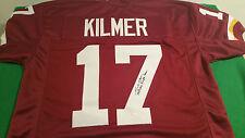 Washington Redskins, Billy Kilmer, signed custom pro style Jersey w/JSA