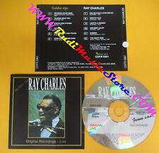 CD RAY CHARLES Original Recordings Live 1992 FREMUS CDFR0361 no lp mc dvd (XS11)