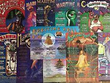 11 Maritime Hall 2B1 Family Dog Bill Graham Concert Fillmore Gig Posters 1998-00