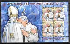 Vatican 2017 Pope Emeritus Benedict XVI 90th Birthday MNH Mini Sheet