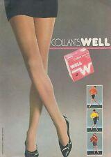▬► PUBLICITE ADVERTISING AD WEIL  Bas et collant (d)