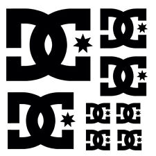Kit 8 Stickers Dc Shoes - Sticker Adhesives Car Sponsor Board