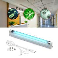 UVC Germicidal Lamp T5 Tube Ozone Sterilizer Light Bactericidal Kill Dust Mite