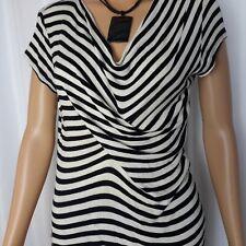 CABI Black and White Stripes Size S ♡